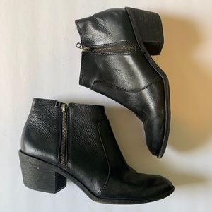 Madewell Pebble Leather Ankle Boot